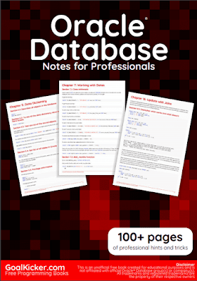 Oracle Database pdf book notes | Free Download