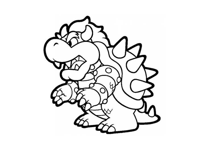 Super Mario Brothers Coloring Pages 2 Coloring Pages