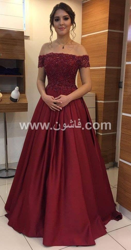 10 صور لفساتين باللون الاحمر رائعة الجمال