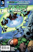 Green Lantern Corps Annual #1 Cover