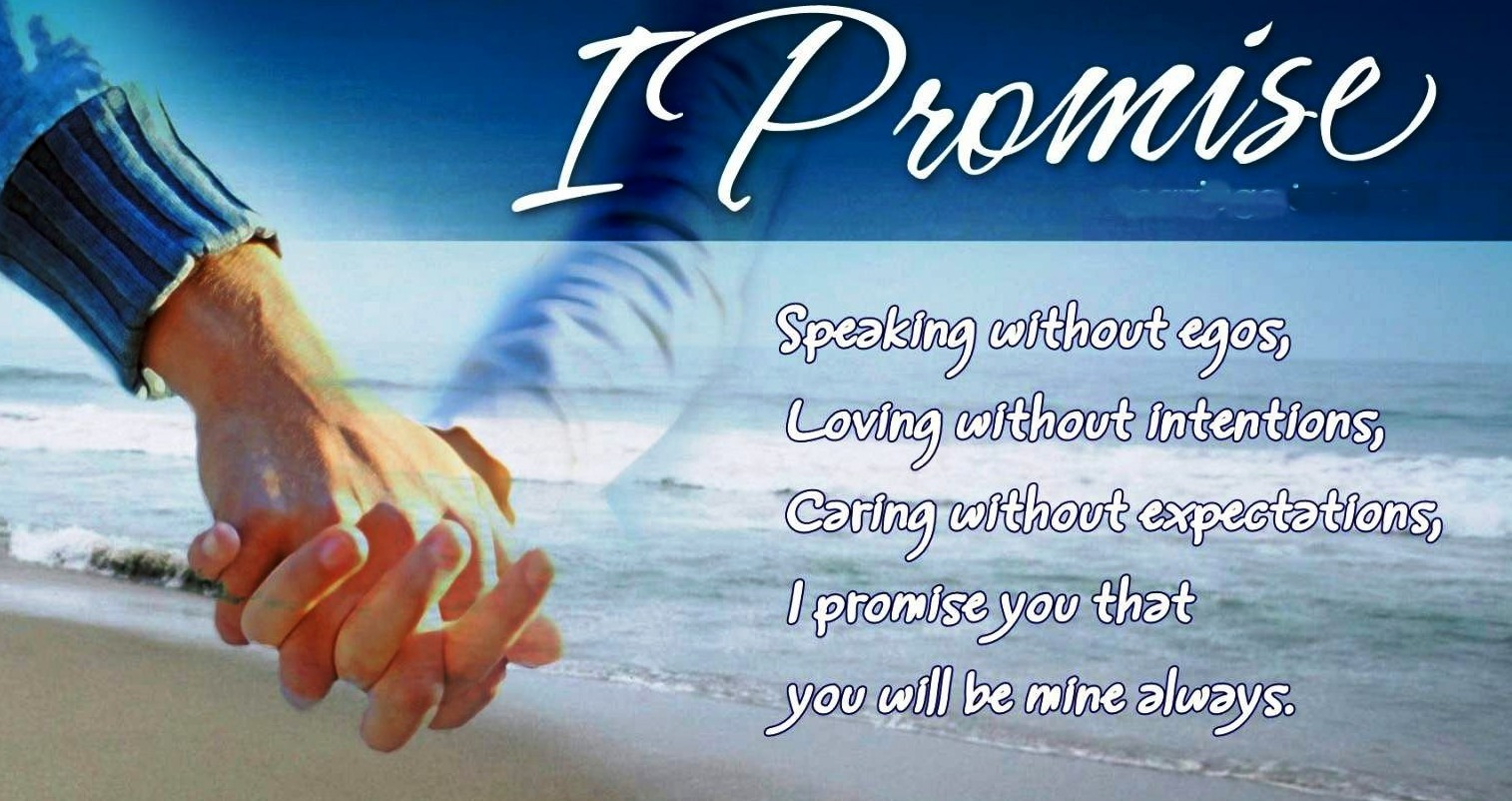 Happy Promise Day Greeting Cards ""