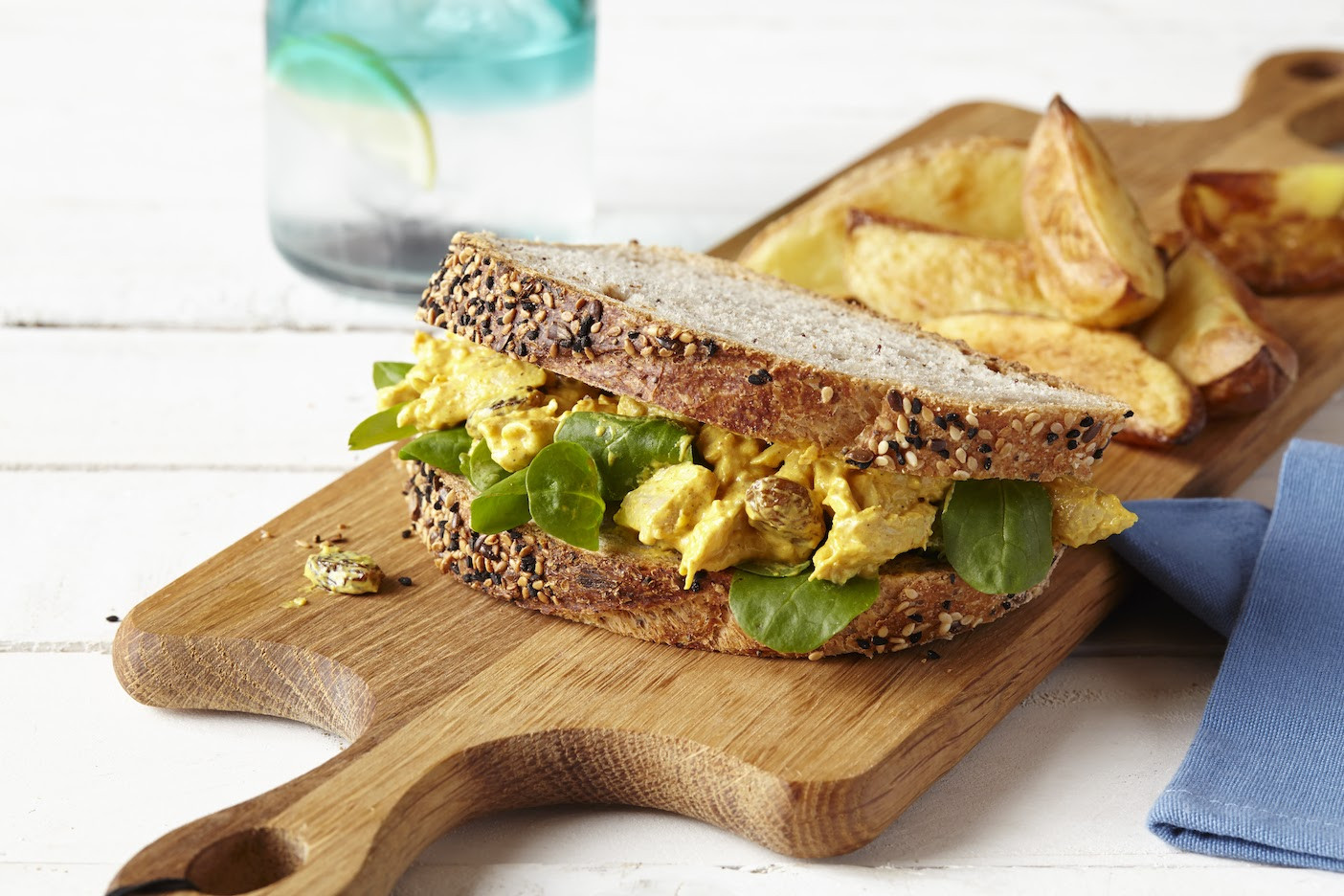 Fit For The Queen: Coronation Chicken.