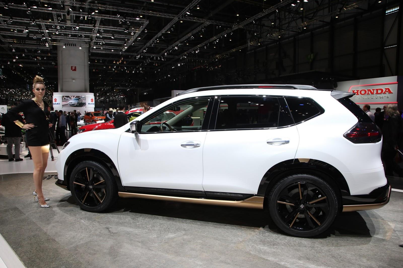Nissans Qashqai And X Trail Premium Concepts Hint At