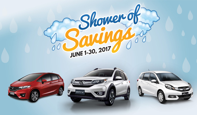 Honda's Shower of Savings