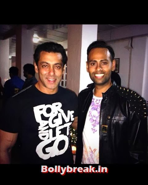 Bigg Boss 7's most talked about contestant VJ Andy was also spotted at the bash., Salman Khan Birthday bash Pics