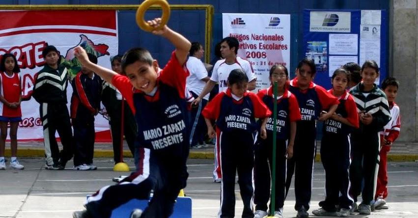 MINEDU: Colegios tendrán tres horas de educación física desde este año - www.minedu.gob.pe
