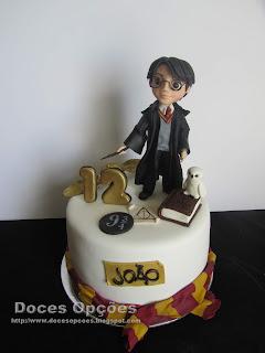 Bolo de aniversário Harry Potter