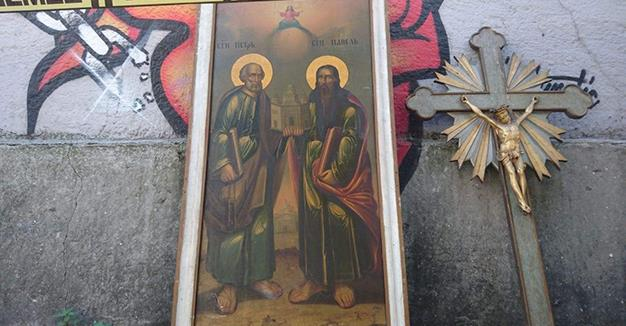 Thieves break into Latin Church in Istanbul's Beyoglu, steal artefacts