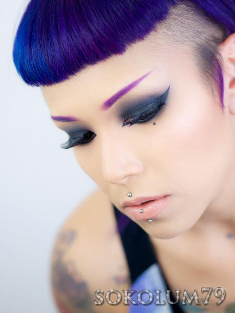Sokolum New Vulcan Hair Logically