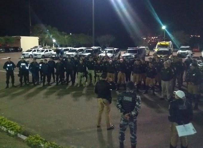 Força Tarefa: Órgãos de segurança fazem mega operação em Ponta Grossa