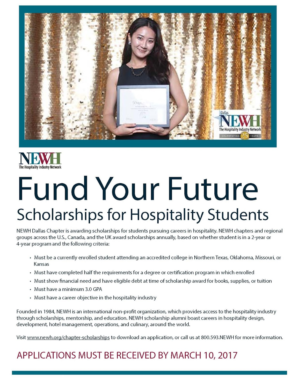 Interior Design Blog Newh Scholarships For Hospitality Students