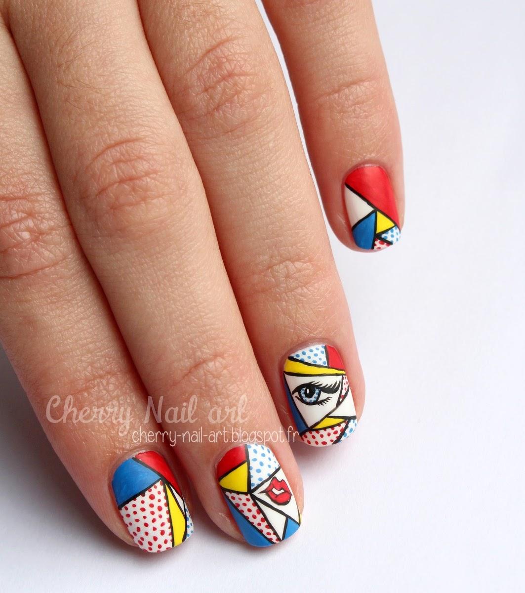 nail art pop art