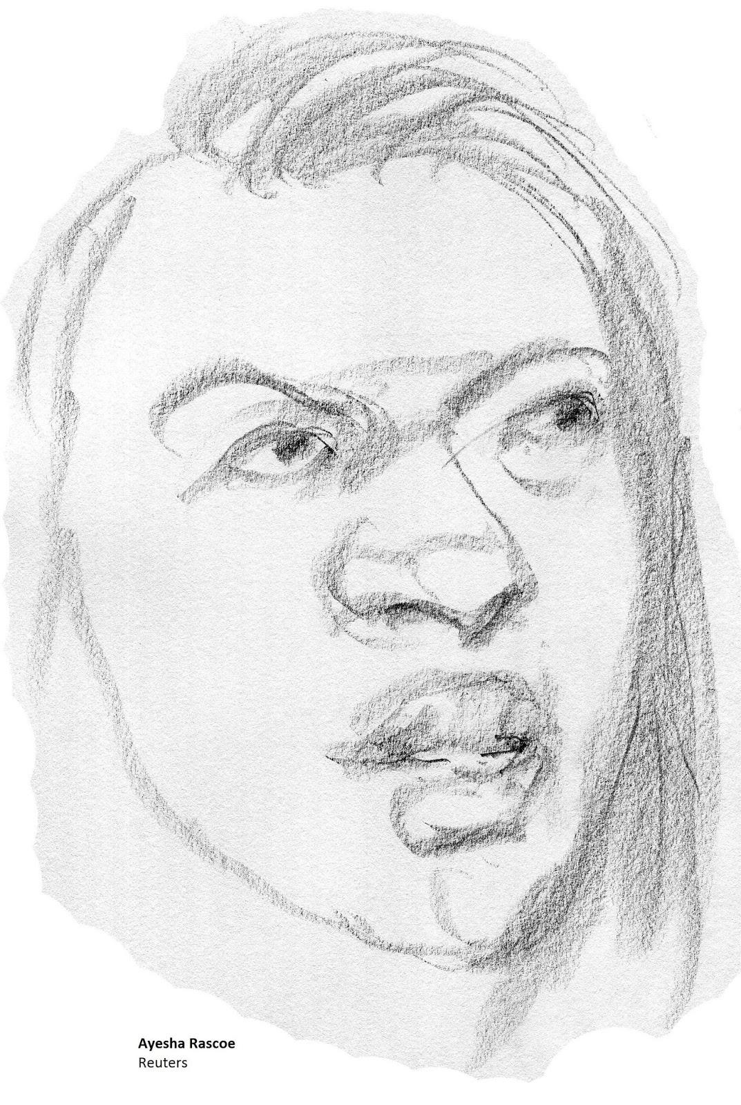 daily drawings: Ayesha Rascoe
