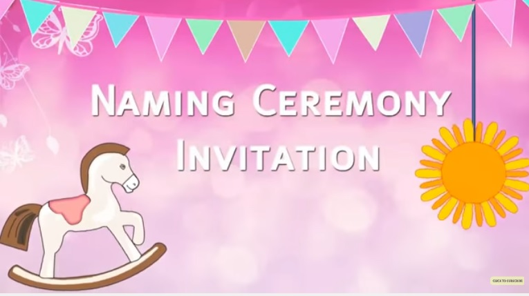 Cradle naming whats app ceremony invitation code cig003 make feel good invitation for your baby cradle ceremony invite all your contact list in whats app facebook just with a click dont give them a chance to m4hsunfo