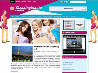 ShoppingMania Free WordPress Theme