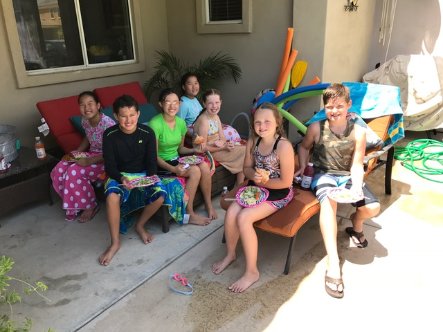 9th Birthday Pool Party Party