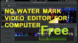 no watermark video editor for computer