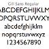 幾何学的と思いきや人間臭いフォント「Gill Sans(ギル・サン)」