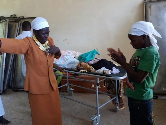 Drama as Church members storm hospital to resurrect dead people (photo)