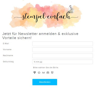 Stampin Up Newsletter von stempel einfach