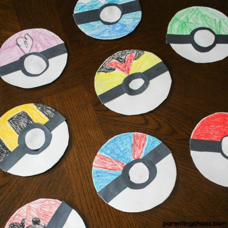 design your own pokemon - Pokemon crafts for kids
