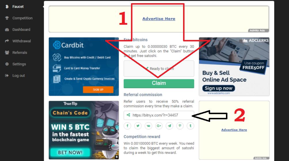 Bitcoin Free to Claim ~ Abang Long Guide
