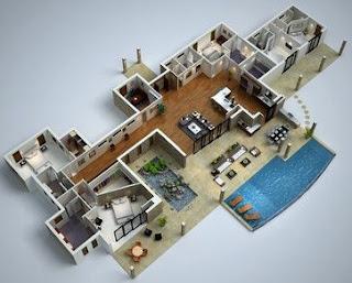 Minimalist Modern House Floor Plans