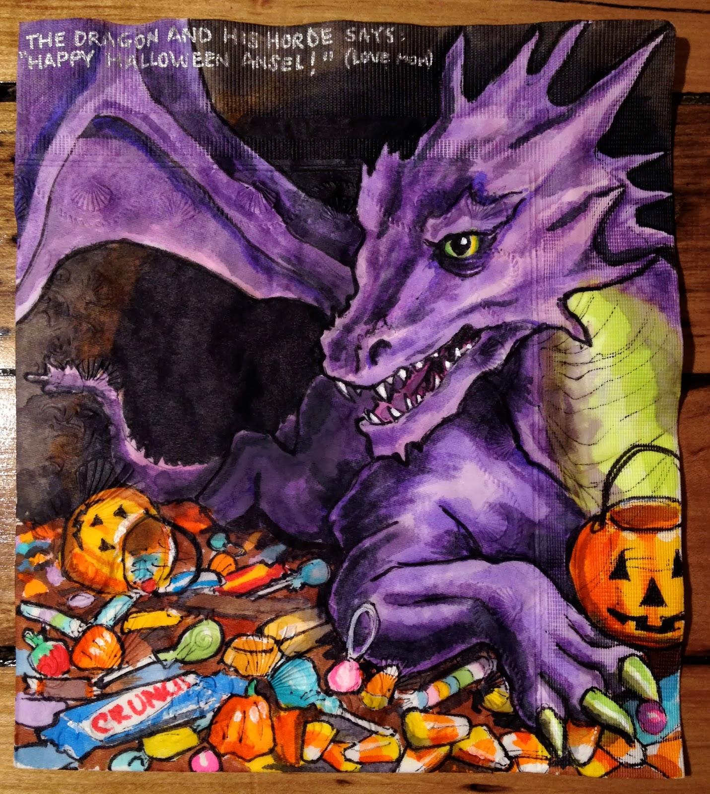 Daily Napkins Halloween Napkins 2013