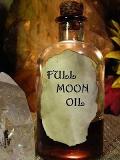 óleo da lua cheia