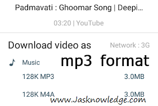 download as mp3 format
