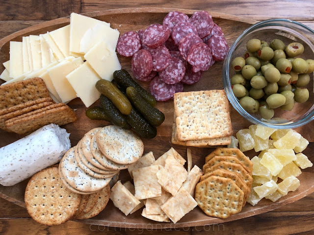 Cheese Boards don't have to be expensive to be delicious~cortneyandco.com