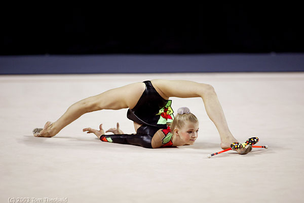Skinny flexible girlfriend gymnasts - 1 part 9