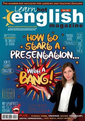 Hot English Magazine - Number 187