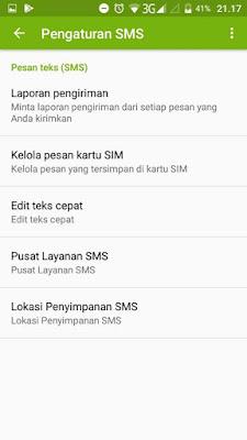cara mengatasi hp tidak bisa mengirim pesan sms