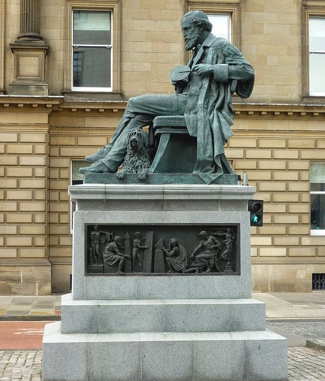Monument of Scientists James Clerk Maxwell