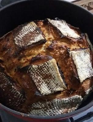 20151211 175055 1 - Güzel Bir Hediye İle Ekşi Mayalı Ekmek Yapmak..