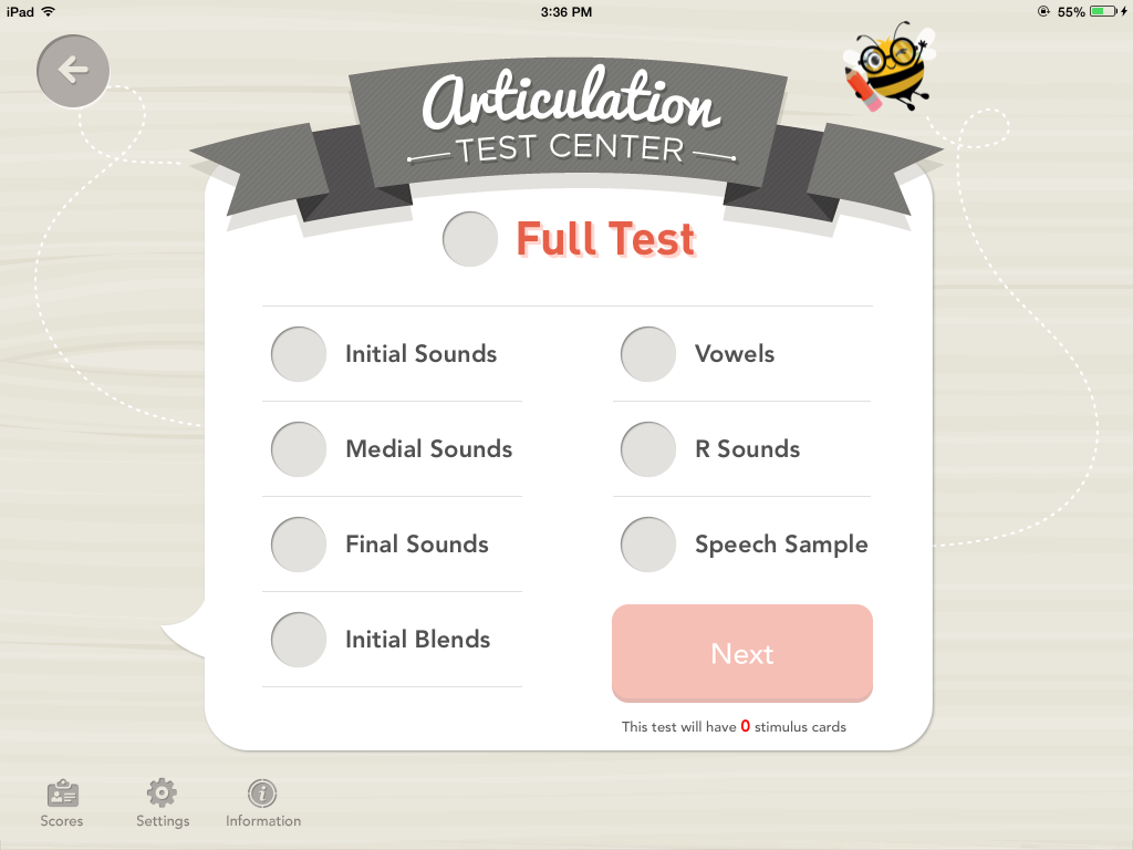 Teach Speech 365 Articulation Test Center App Review