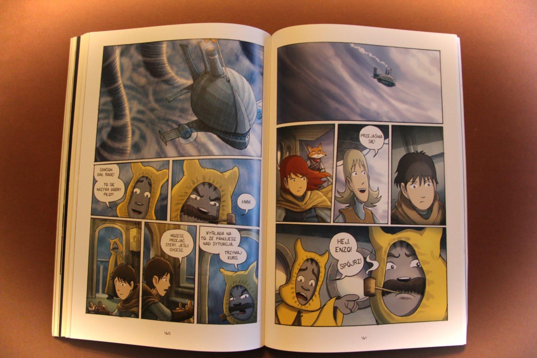"""""""Amulet 3. Zaginione miasto"""" Kazu Kibuishi"""