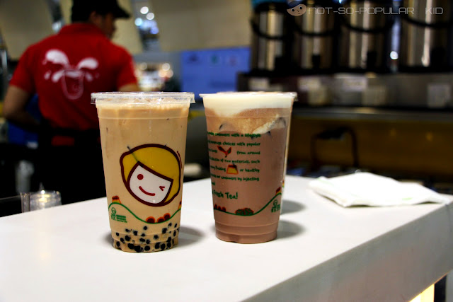 Famous Milk Tea of Happy Lemon