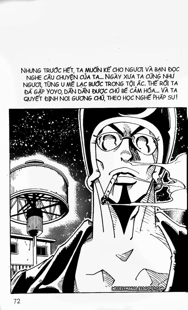 Shaman King [Vua pháp thuật] chap 102 trang 5