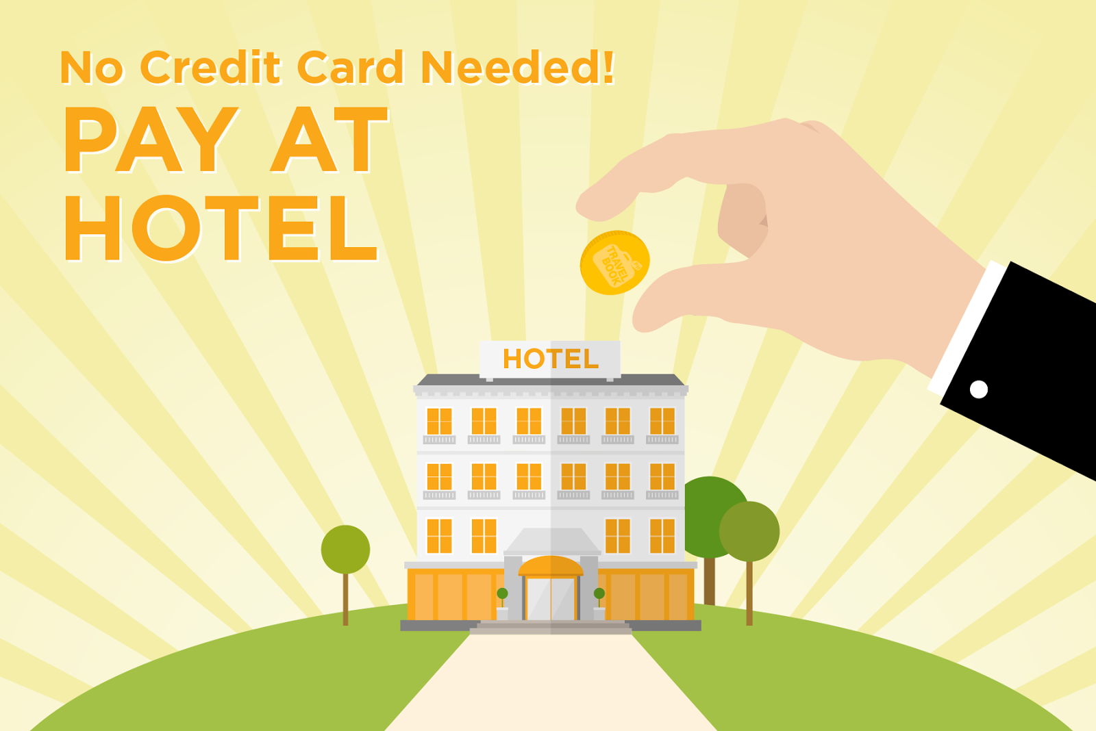 how to get a hotel without a credit card
