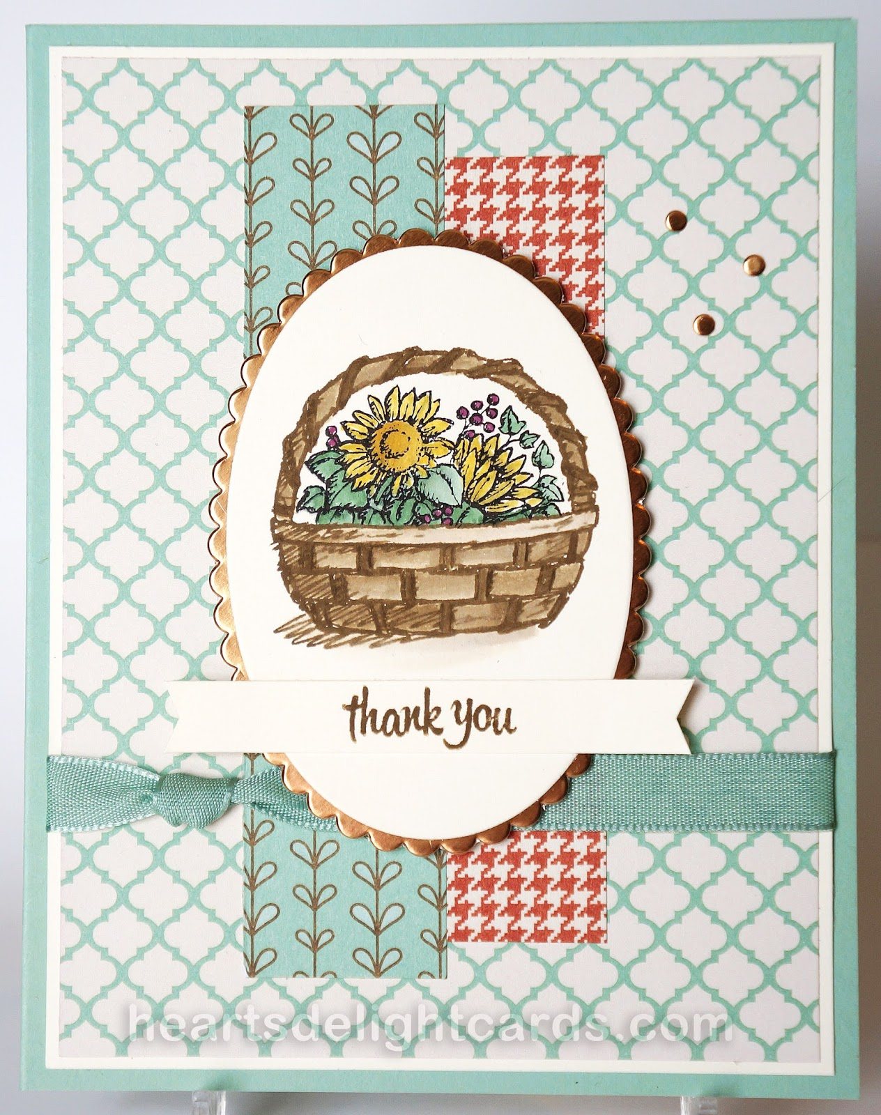 Heart s delight cards a basket full of thanks