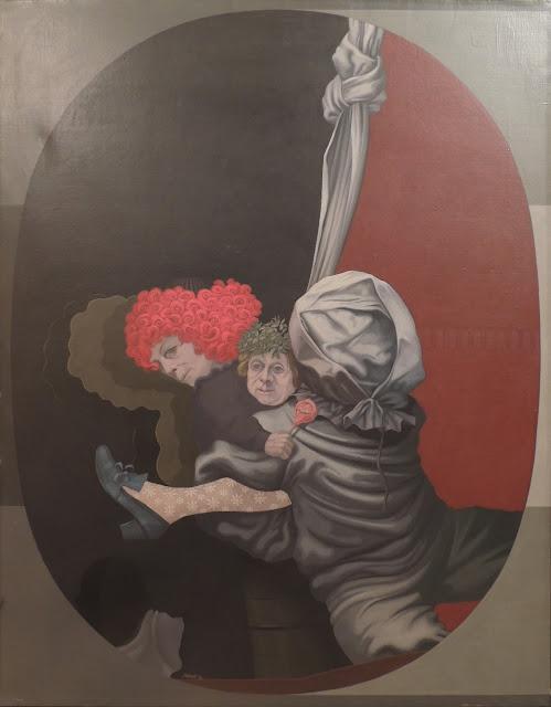 Carlos Mensa cuadro surrealista pintura arte