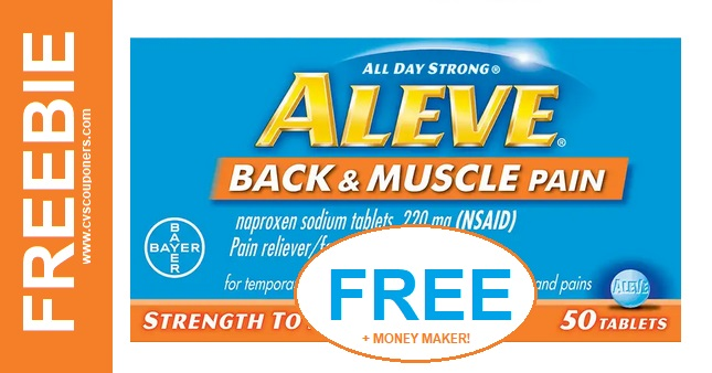 MONEY MAKER Aleve CVS Deal - Today Only 5/5