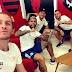 Gabigol e Bruno Henrique comemoram volta do Flamengo aos treinos: 'Vamos superar isso'