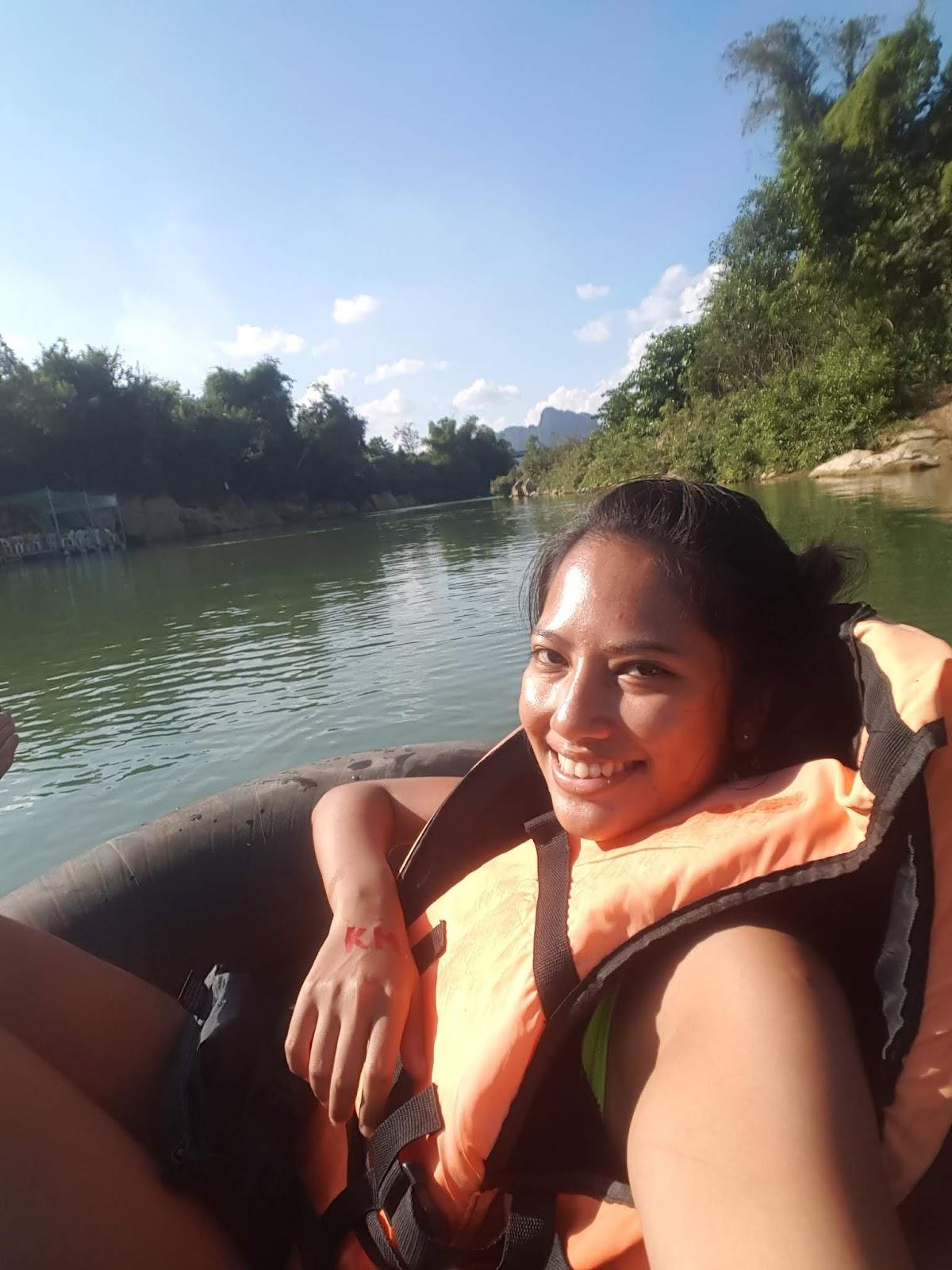 Tubing in Vang Vieng, Laos | Ummi Goes Where?