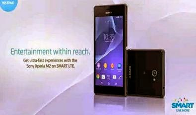 Sony Xperia M2 Free at Smart LTE Plan 999 or All-in Plan 1200