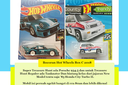 Bocoran Hot Wheels Box C 2018 (Hola Bulldog)