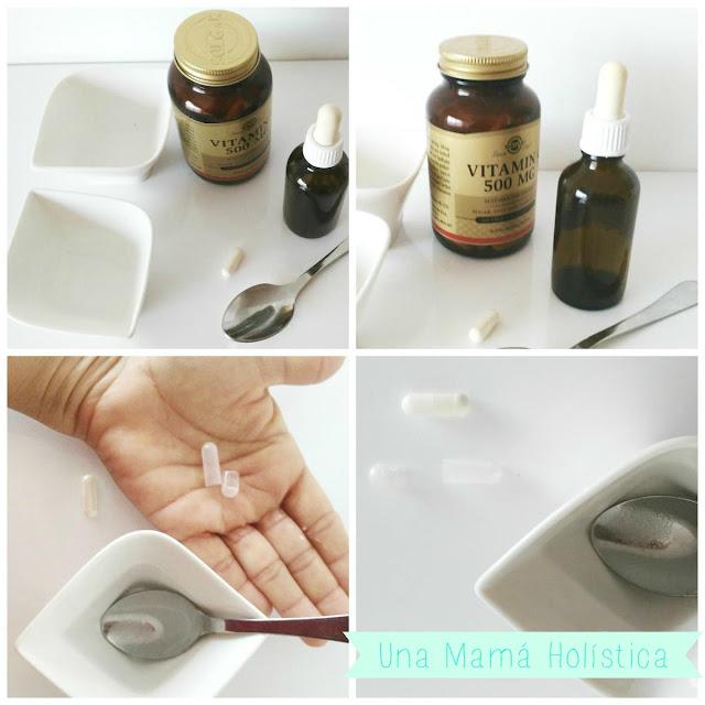 receta casera serum vitamina c