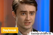 Daniel Radcliffe on Daybreak